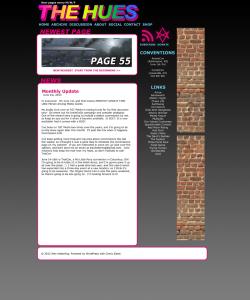 Website v2.0 mockup