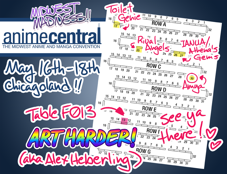Anime Central 2014 Map