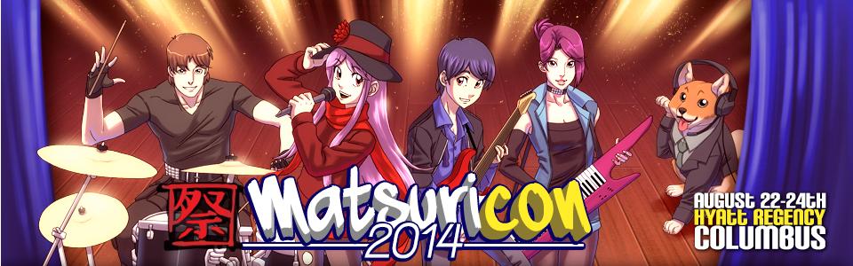 Matsuricon 2014 Banner
