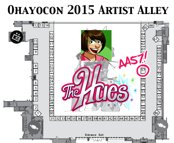 ohayocon 2015 map