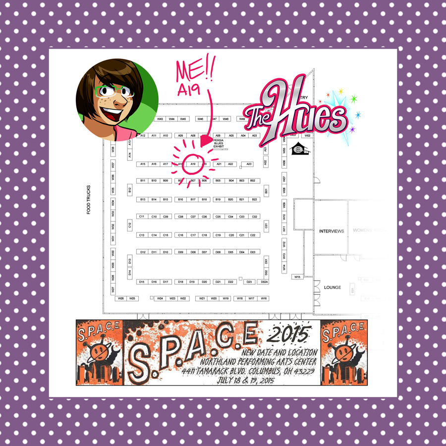 SPACE 2015 map