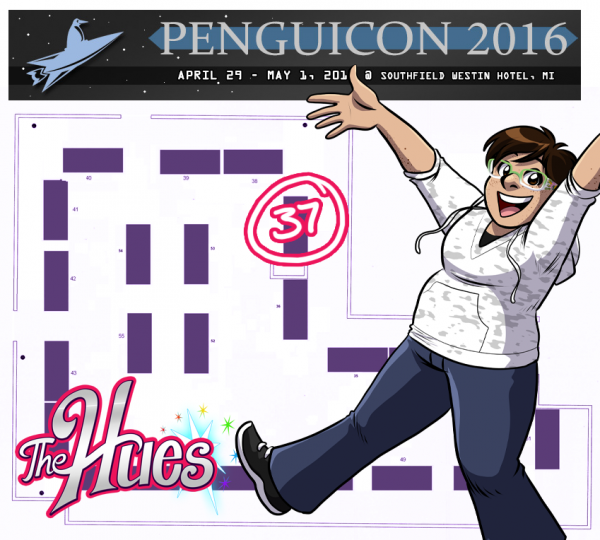 Penguicon 2016 map