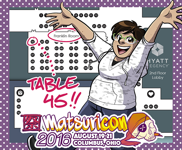 Matsuricon 2016 Map